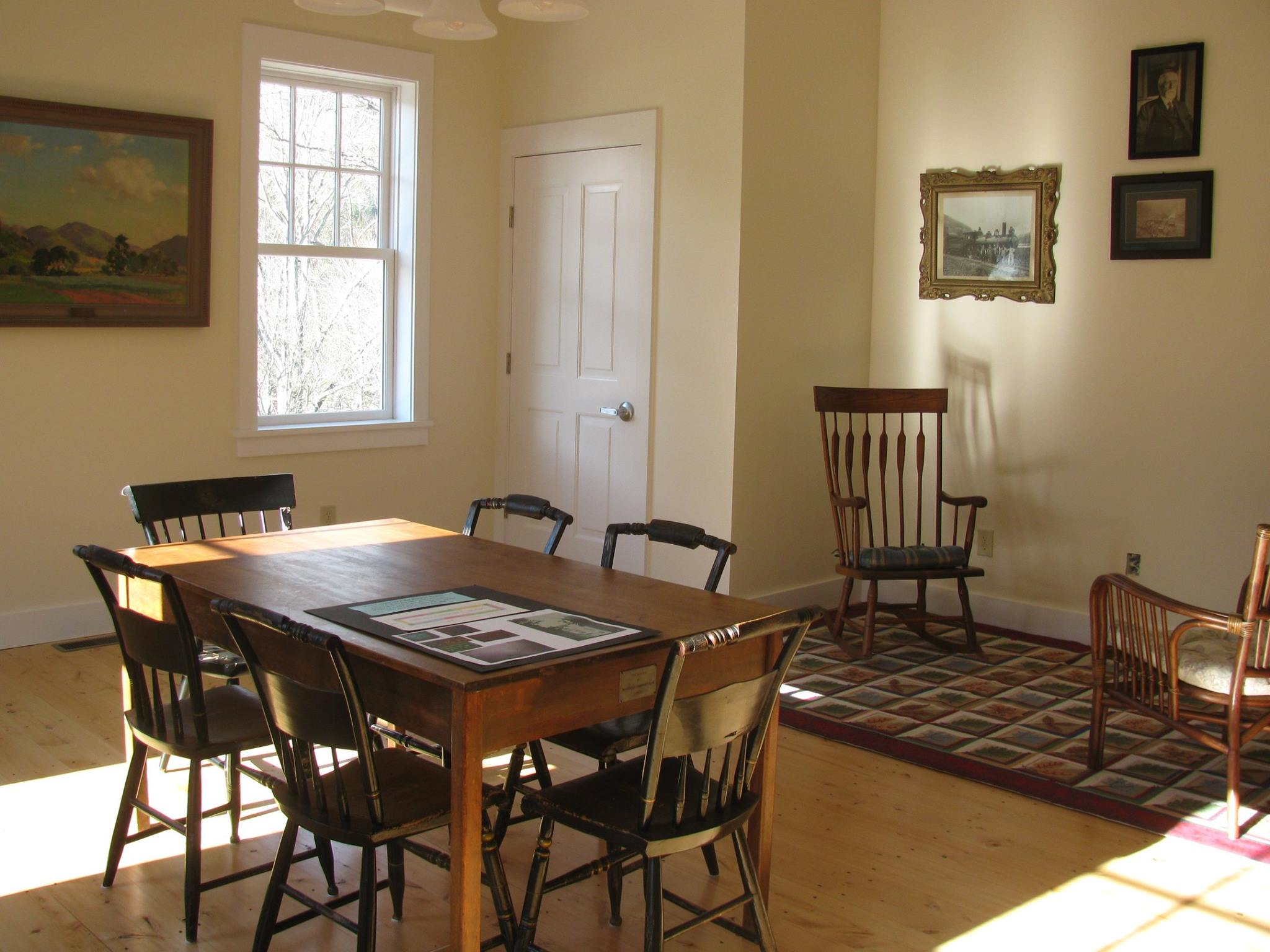 The Vermont Room at the Rochester Public Library