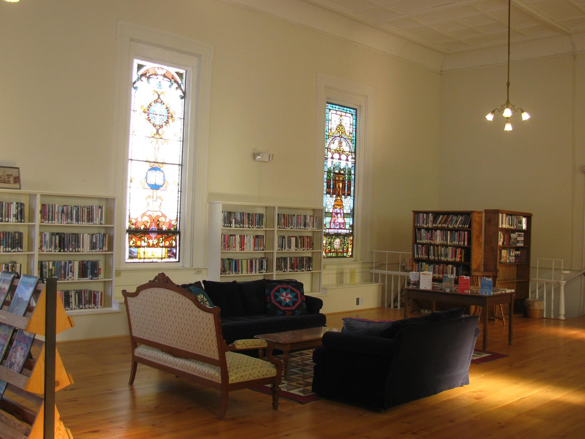 Second Floor of the library